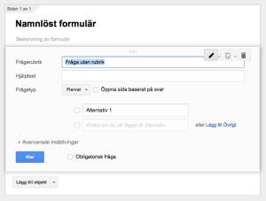 Namnlöst formulär